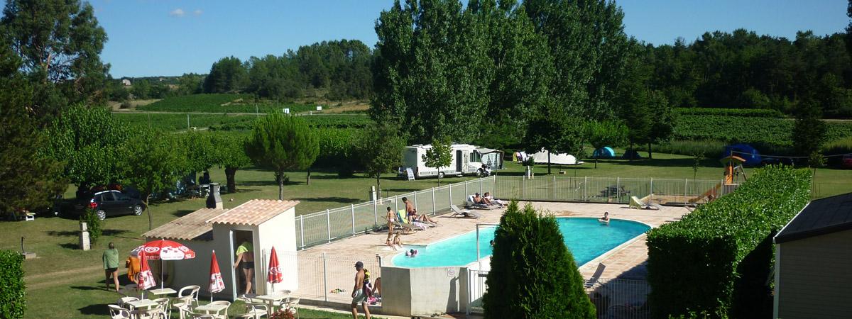 ... Camping La Goule Vagnas 03